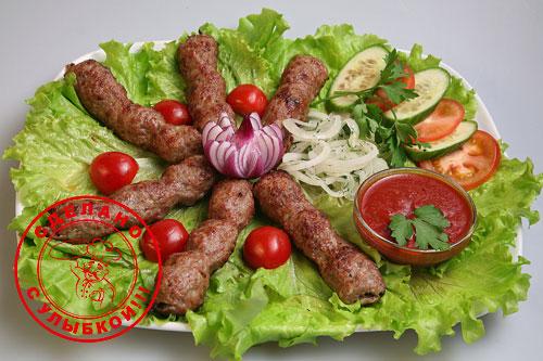Говядина люля-кебаб