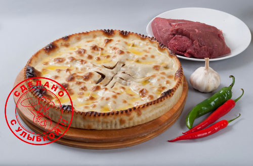 Осетинский пирог с рубленным мясом