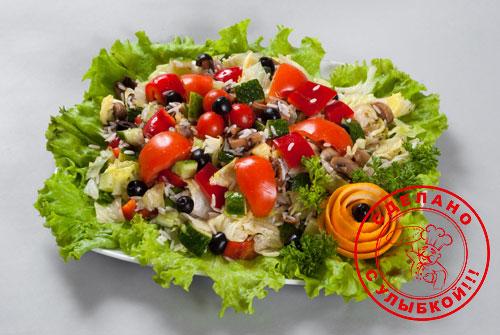 """Салат """"Овощное изобилие"""""""