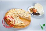 Осетинский пирог с грецкими орехами и капустой